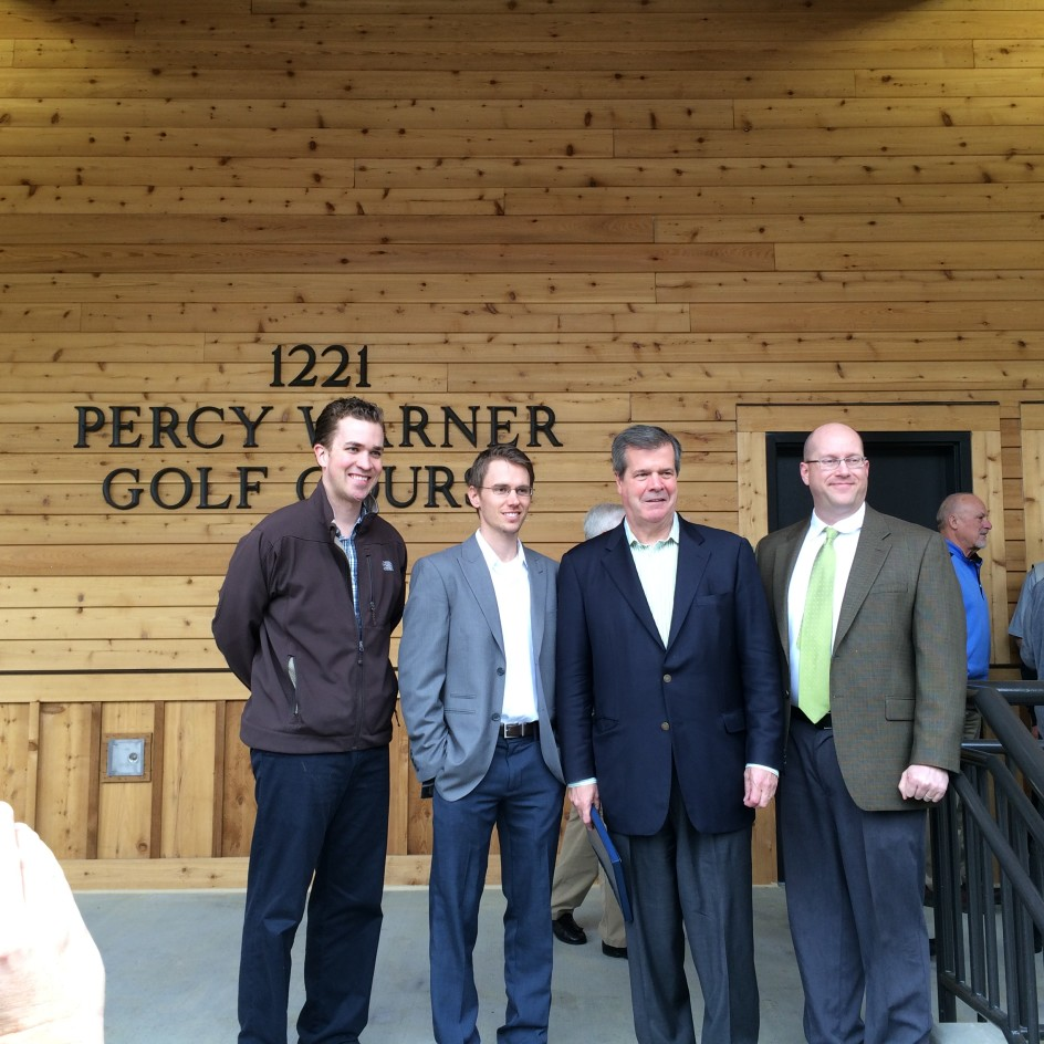 Ribbon Cutting at Percy Warner Golf Clubhouse
